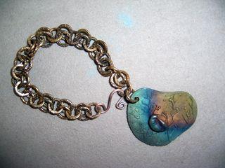 Bronzeclayfacebracelet